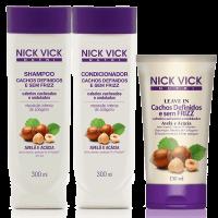 Nick Vick Nutri Cachos Definidos e sem Frizz