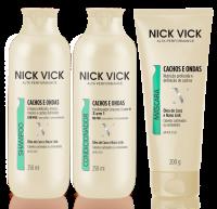 Nick Vick Alta Performance Cachos e Ondas Definidas